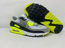 Nike Air Max 90 OG White/Particle Grey-Volt-Black Shoes Men's 10 CD0881-103 New