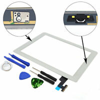 OEM SPEC Glass Touch Screen Digitizer + Home Button For iPad 2 White + Tool USA