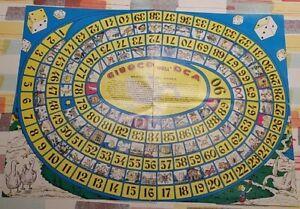 Cartoncino del Gioco dell'oca tradizionale anni '80