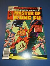 Master of Kung Fu #63 Bronze age lot of 2 Master of Kung Fu Fine