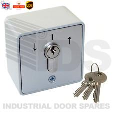 ROLLER SHUTTER DOOR KEY SWITCH  IP54 - 16 amp - GEBA EQUIVALENT REPLACEMENT