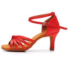 Brand NewWomen Girl lady's Ballroom Tango Latin Dance Dancing Shoes heeled Salsa