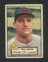 1952 Topps #38 Wally Westlake VG/VGEX Cardinals 109061