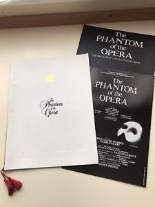 PHANTOM OF THE OPERA Musical Theatre Programme BROADWAY