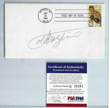 Joe Frazier Autographed First Day Cover PSA COA Professional Boxing Champion