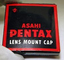 Asahi Pentax M42 Rear Lens Cap screw in Genuine vintag - Worldwide