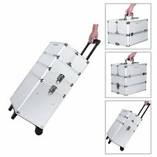 Suitcase Trolley Professional Makeup Multi-Purpose Cosmetics Estetica with 6 Key