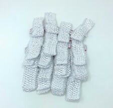 Wholesale lot 48 pcs Crochet Headband With 1.5 inch Polyester White.
