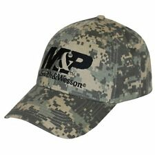 M&P by Smith And Wesson Logo Embroidered Camo Cap Camouflage One Size
