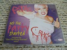 "Pink ""Get The Party Started (Remixes)"" Europe CD Single (2002)"