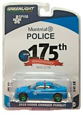 Green Machine 27980-E 2018 Dodge Charger Montreal Police 175th Anniversary 1:64