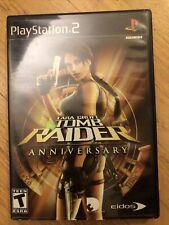 Lara Croft: Tomb Raider Anniversary (Sony PlayStation 2, 2007) Cib Tested
