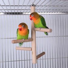 Bird Perch Stick Birds Natural Wood Stand Parrot Birdcage Stand Natural Toy