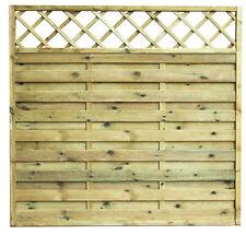 Cremona - Pannello salvavista in legno di pino massiccio, autoclave, in 3 misure