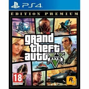 GTA V Edition Premium Grand Theft Auto 5 Jeu PS4 neuf sous blister VF