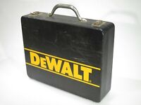 "Vintage METAL Dewalt Tool Box Carrying Case 10 1/2"" x 13 1/2"" - Open Interior"