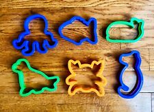 Cookie Cutters Wilton Sea life Fish Whale Octopus Crab Seahorse Seal Sea Lion