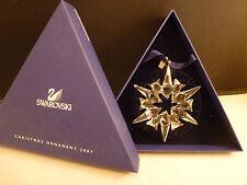 SWAROVSKI CRYSTAL SNOWFLAKE ORNAMENT 2007  ANNUAL EDITION CHRISTMAS STAR