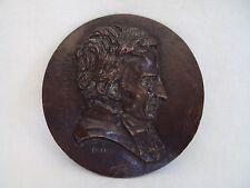 MEDAILLON ORIGINAL EN BRONZE DAVID 1831