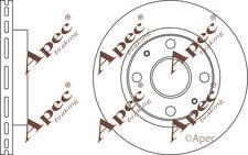 FRONT BRAKE DISCS (PAIR) FOR DAIHATSU EXTOL GENUINE APEC DSK2919