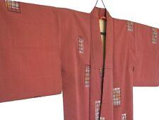 STUNNING PURE SILK VINTAGE JAPANESE KIMONO  #96
