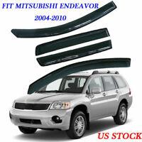 Fit Mitsubishi Endeavor 2004-2010 Vent Window Visor Rain Guard Weather Shield US