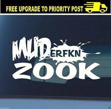 suzuki zook 4X4 DECAL muderfkn sierra vitara jimny 200mm sticker