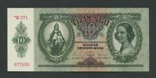 HUNGARY - 10 pengo  1944-5  *German Occupation P113  Uncirculated  ( Banknotes )