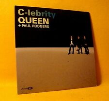 NEW Cardsleeve Single CD Queen Paul Rodgers C-lebrity 1TR + Video 2008 Pop Rock