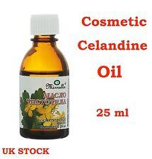 Celandine Oil - Help for SkinProblem Acne Psoriasis Eczema Warts Seborrhoea 25ml