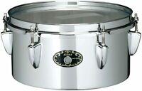 """Tama Steel Mini Timbales Snare 10 """"X5"""" STS105M From Japan"""