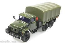 ZIL 131 mit Plane Automodell 1:43 USSR OSTALGIE KAMAZ VAZ RAF GAZ WOLGA MAZ