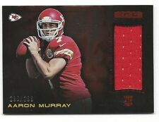 Aaron Murray R & S 2014 Ruby Longevity Material Card,# 2: # 290 of # 299.Chiefs