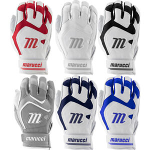 Marucci Signature Series Adult Baseball Batting Gloves - Cabretta Leather Palm