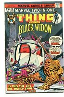 Marvel Two In One 10 Fine Thing Black Widow Marvel Comics CBX5A