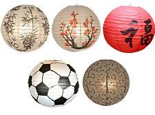 Lampenschirme Laternen chinesisch Papier Lampions mit Muster China Laternen 40cm