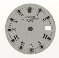 ROLEX OYSTER-PERPETUAL DATE LADIES WRISTWATCH DIAL FOR RESTORATION W159