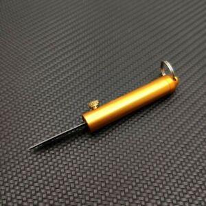 Retractable Sliding Mini Pocket Knife Outdoor Camping Survival Knives KeyChain