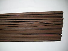 30 Holzleisten Wenge 1000 x 6 x 0,6 mm