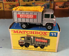Vintage Matchbox Lesney Scaffolding Truck No. 11 In Box