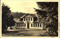 Stützerbach Thüringer Wald DDR s/w Postkarte 1954 Partie am Gasthaus Auerhahn