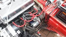 RED 8MM PERFORMANCE IGNITION LEADS TRIUMPH SPITFIRE MKIV 1.5 1.3 HAND BUILT HT