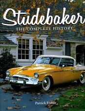 STUDEBAKER The Complete History- Great Book at a great price!