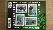 TIMBRE FRANCE BLOC  FEUILLET N° F4576 ** SPORT COUPE DU MONDE DE RUGBY 2011
