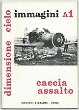DIMENSIONE CIELO - CACCIA ASSALTO - IMMAGINI A1 - Ed. Bizzarri 1972* - POSTER !!