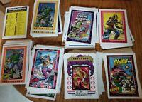 GI JOE Trading Cards Lot Of 204 Series 1 1991 Hasbro Collectible