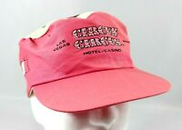 Vintage Circus Circus Las Vegas Casino Snapback Painters Hat Cap 1990s