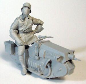 █ 1/35 Resin Biochemical soldier W/Vehicle Unpainted unassembled 2843