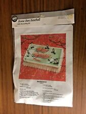 Rare Sealed Vintage 1991 Wilton Home Run Baseball Cake Decorating Kit