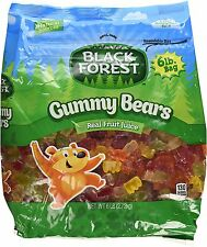 Black Forest Gummy Bears 6lb 2.72kg fruit flavor BB-8/18/2020 gummi candy haribo